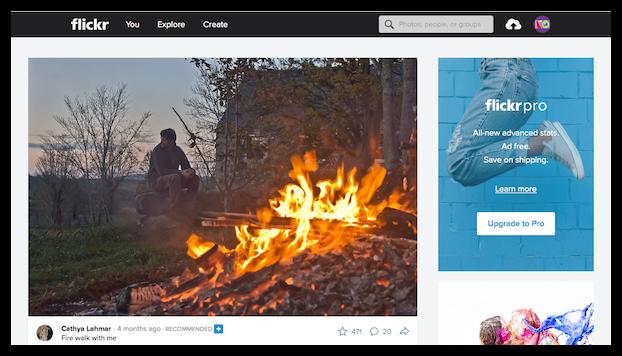 Flickrアカウント作成