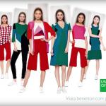 ベネトンの新広告が面白い!世界各都市の女性をCGで合成し標準的な美女を作成
