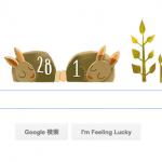 4年に1度!うるう年のGoogleロゴが可愛い