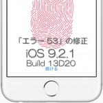 【Guide】iPhone、iPadの「エラー53」問題を修正する方法