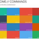 【Google Chrome】Chromeのコマンドリンクまとめサイト「Chrome Commands」
