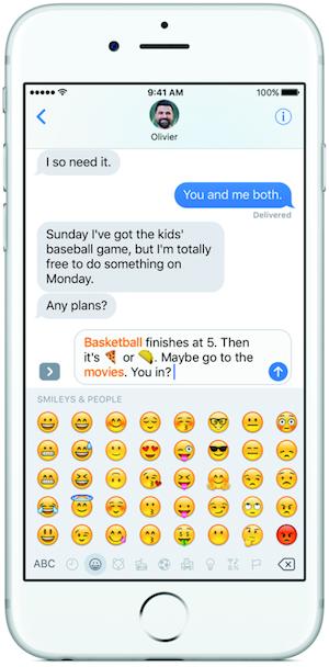 iOS10-iMessage