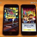 iOS 9.3.3 Beta 2 Vs iOS 9.3.2 スピード比較テスト【Video】