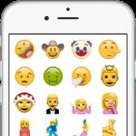 【iOS】今すぐ「Unicode 9.0」の新しい72種類の絵文字をiPhoneにインストールする方法
