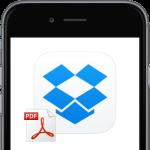 【Dropbox】iPhoneから閲覧サイトをPDFファイルでDropboxに保存する方法