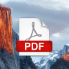 【Mac OS X】Mac上で複数のPDFファイルを1つのファイルに結合する方法