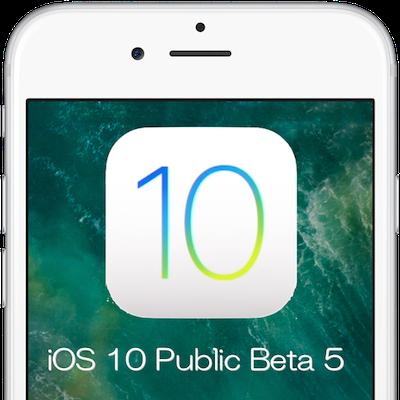 iOS10PublicBeta5