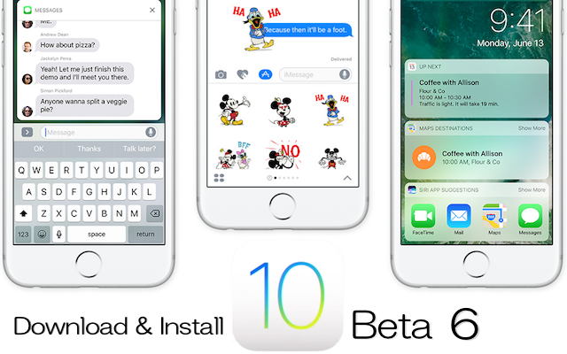 iOS10beta6_Installation