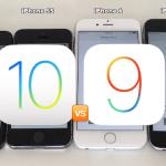 iOS 10 Vs iOS 9:iPhone4機種でバッテリー寿命の比較テスト【Video】