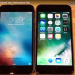 iOS 10.0.1 Vs iOS 9.3.5 スピード比較テスト【Video】