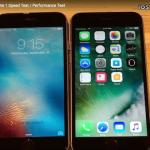 iOS 10.1 Beta 1 Vs iOS 9.3.5 スピード比較テスト【Video】