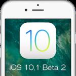 Apple、iOS 10.1 Beta 2を開発者向けにリリース