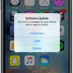 【iPhone】iOS10.0.2へのアップデート通知がウザい!しつこいiOSアップデート通知を消す方法