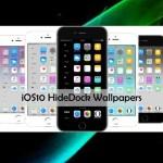【iOS10】iPhoneのホーム画面にある「ドック」や「フォルダ」を隠す方法