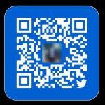 【Twitter】QRコードを表示してツイートする方法、色の変え方