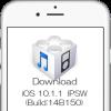 iOS 10.1.1Build:14B150ファームウェア IPSWの機種別ダウンロードリンク(Appleオフィシャル・リンク)