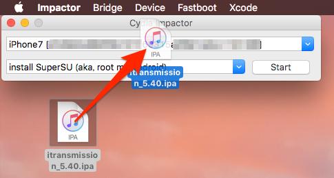 Cydia Impactorで、MacやWindows PCからiOSデバイスにアプリを