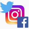 Instagram(インスタグラム)でシェア設定。TwitterやFacebookとアカウント連携する方法と解除する方法