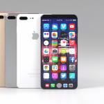iPhone 8のコンセプトは、噂のベゼルレス、消えた物理ボタンの空き領域にTouch Bar機能をデザイン【Video】