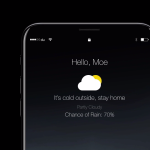 iPhone 8上で動作するiOS 11のコンセプト・デザイン【Video】