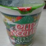 【激普通】日清の抹茶ヌードルを食べてみた