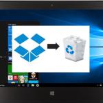 【Dropbox】Windows10に入れたデスクトップアプリをアンインストールする方法とその注意点
