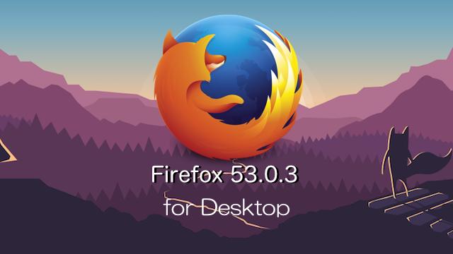 Firefox53.0.3