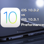 iOS 10.3.2 vs iOS 10.3.1 スピード比較テスト【Video】