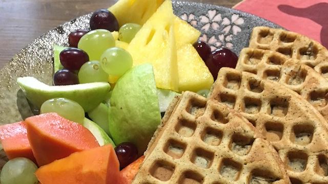 tainan fruit&waffle