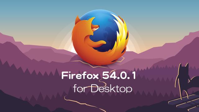 Firefox54.0.1