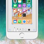 【iOS 11】スクショを撮った画像にすばやくマークアップ、注釈を描き込む方法