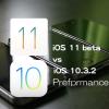 iOS 11 Beta 1 vs iOS 10.3.2 スピード比較テスト【Video】