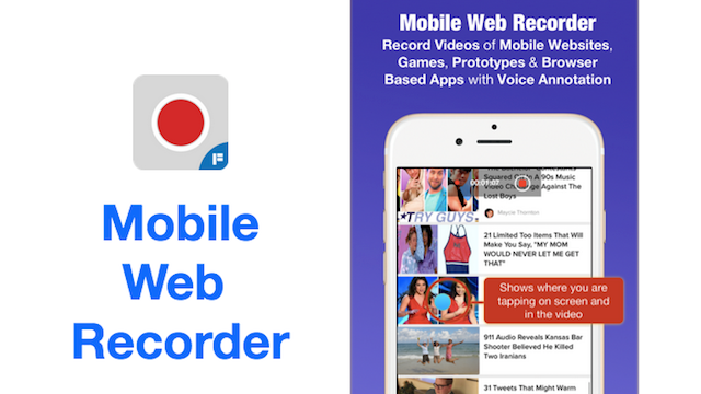 Mobile_Web_Recorder