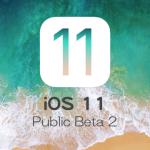 Apple、iOS 11 Public Beta 2をテスター向けにリリース。