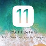 iOS 11 Beta 3の100を超える新らしい機能と変更点をまとめた動画を公開【Video】
