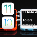 iOS 11 Beta 3 vs iOS 10.3.2 スピード比較テスト【Video】