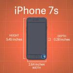 【リーク情報】iPhone 7s、iPhone 7s Plusの筐体サイズが漏れる。iPhone 7シリーズよりも若干大きくなり、ケースは買い換えることになりそう。