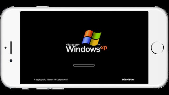 WindowsXP-iPhone