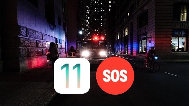 iOS11Device-SOS