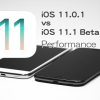 iOS 11.1.0 Beta 1 vs iOS 11.0.1 スピード比較テスト【Video】