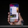 【iPhone X】iPhone XでApp Switcherを開くにはジェスチャーを使って行います。