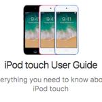 Apple、Web版マニュアル「iPod touch ユーザガイド (iOS 11 ソフトウェア用)」を公開