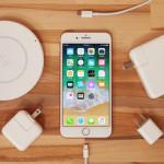 【iPhone8/iPhone8 Plus】充電速度比較!従来の充電器とワイヤレス充電器、最も早く充電できるのは?