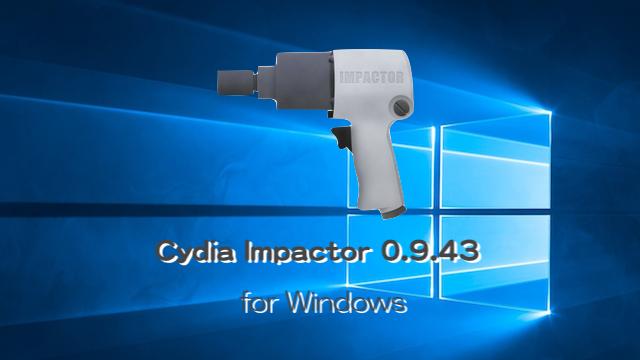 CydiaImpactor-Windows