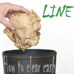 【LINE(ライン)】LINEが重たい?たまったキャッシュが原因かも!今すぐLINEを軽くする方法。写真の保存可能期間は?