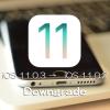 iOS 11.0.3をiOS 11.0.2またはiOS 11.0.1(あるいはiOS 10.3.3)にダウングレードする方法
