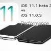 iOS111beta3vsiOS1103