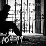 【iOS 11】iPhoneのロック画面に表示された不在着信履歴から大事な情報を守る!