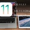 iOS 11.1.1をiOS 11.1(またはiOS 11.0.3、iOS 11.0.2、iOS 11.0.1)にダウングレードする方法