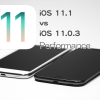 iOS 11.1 vs iOS 11.0.3 スピード比較テスト【Video】